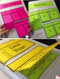 Place Value Interactive Notebook with 10 differentiated activities!