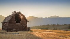 """Beautiful Video - """"They all Fall Down"""" Old Barns in Western Montana - As most of you know, I tend to shoot a large number of my landscapes with an old barn or homestead in the scene."""