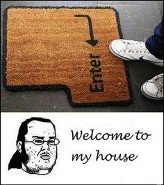 nerd welcome