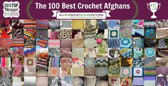 The 100 Best Crochet Afghans Ever: Crochet Baby Blankets, Ripple Crochet Patterns, and More | AllFreeCrochetAfghanPatterns.com
