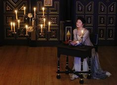 Actress Gemma Arterton performs as the Duchess of Malfi in John Webster's 'The Duchess of Malfi' at the Sam Wanamaker Playhouse at the Globe Theatre in London January 14, 2014.