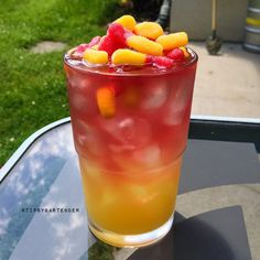 "Crazy Wormaholics Cocktail - For more delicious recipes and drinks, visit us here: <a href=""http://www.tipsybartender.com"" rel=""nofollow"" target=""_blank"">www.tipsybartende...</a>"