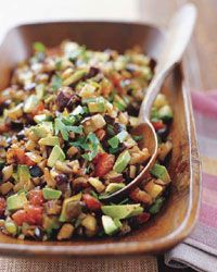 Eggplant Caponata | Sicily's caponata is a tangy eggplant salad served as a side dish or appetizer. #howisummer