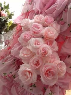 Shabby Chic Pink Roses