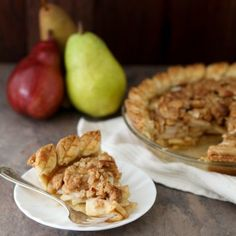 Pear Crumble Pie Recipe « Go Bold with Butter