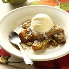 Bananas Foster Recipe from Taste of Home -- shared by Crystal Bruns of Iliff, Colorado