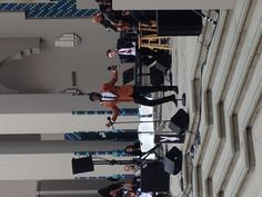 The New Jump Blues Band had jazz fans dancing in the aisles, swingin' to the sounds of the blues....the joint was jumping at the Playboy Jazz Free concert at the Beverly Hills Civic Center yesterday--come out and join us for more fun at Baldwin Hills Crenshaw Plaza June 2nd!