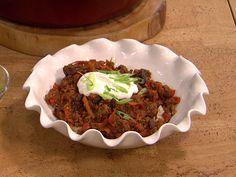 Warm up with Trisha Yearwood's sour cream cornbread and fancy chili