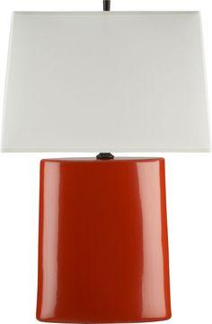Boka Persimmon Table Lamp  | Crate and Barrel