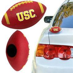USC Trojans Football Car Magnet  #UltimateTailgate #Fanatics