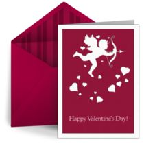 Free online Cupid valentine by Punchbowl
