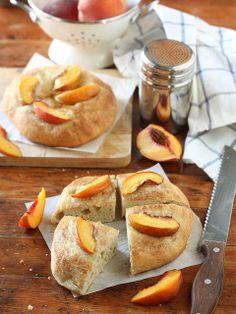 Peach Focaccia