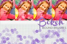 Bokeh Round Brushes by Polka Dot Pixels on Creative Market