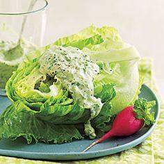 salad, dressing recipes, fourherb green, dip, summer appetizers