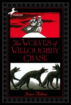 THE WOLVES OF WILLOUGHBY CHASE by Joan Aiken. Not exactly a fantasy, the first book in the fantastic WOLVES CHRONICLES is more of a gothic tale that starts on a barren moor where wolves prowl and cousins Sylvia and Bonnie are left in the care of the wicked Miss Slighcarp. It moves on to an orphanage and a rescue by the wonderful Simon. Perfect for readers not quite ready for JANE EYRE.