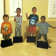 Pinterest Pin of the Week!: Homemade Personal Game Pieces