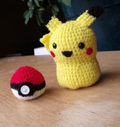 crochet pikachu! @Zay make this for me!