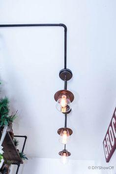 farmhouse industrial pantry lighting