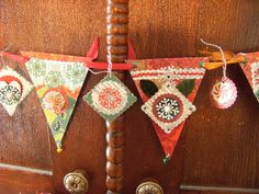 christmas banner made by Jane Corbett