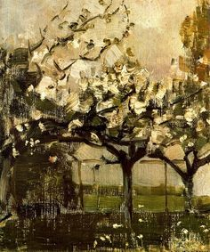 Piet Mondrian .... Tree 1908.....  oil on canvas
