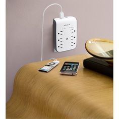 6 Outlet Surge Protector #luvocracy #tech #design