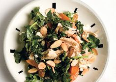 Chicken and Watercress Salad with Almonds and Feta - Bon Appétit