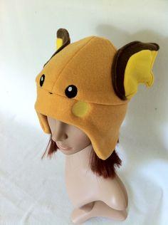 Pokemon Raichu Fleece Beanie