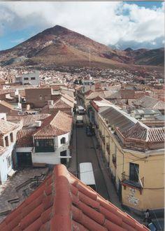 City of Potosi, in Bolivia.