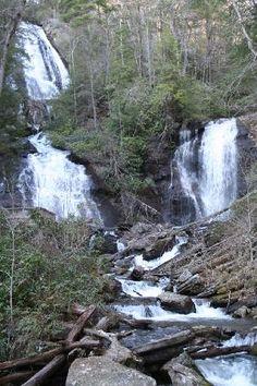 Anna Ruby Falls in Georgia