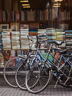 Books and bikes. #biking #changers #sun #sunlight #solar #mobile #smartcommute #citybiking #urbanliving #charging #solarpower #mobilebattery #innovative #community #socialgood #happiness
