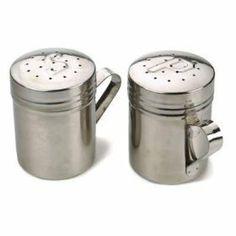 Endurance Salt & Pepper Shakers by RSVP. $12.49