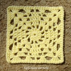 Take 2 square ~ free pattern