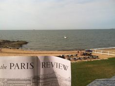 Catching some R & R ... and The Paris Review in Madison, CT #ReadEverywhere