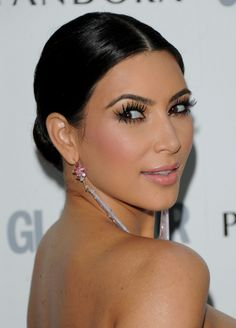 Kim Kardashian goes to great lengths to keep her lashes long on the top and bottom. Would you ever consider lower eyelash extensions? #lashbeauty #sandiego