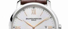 Baume & Mercier Classima Más versiones de un reloj de aspecto elegante en caja de acero pulido de 42 y 33 mm, esfera plateada y movimiento de cuarzo.