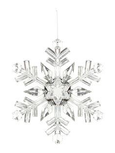 Linea Large Snowflak