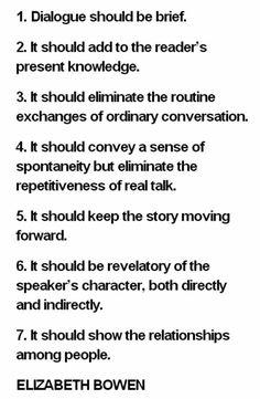 creative writing dialogue tips