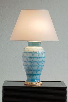 Temple jar lamp