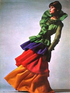 Super Seventies!!! Model Apollonia van Ravenstein photograped by Jean-Jacques Bugat, 1972.