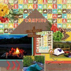 Outdoor Adventures: Publish Date Sept. 17th   Pixel Scrapper digital scrapbooking forums