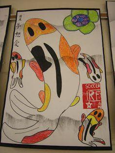 Artolazzi: Koi Fish Drawings
