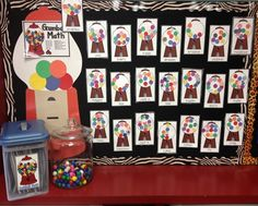 Gumball Math Display