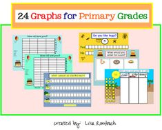 24 Graphs for Primary Grades SmartBoard lesson (.notebook file) $