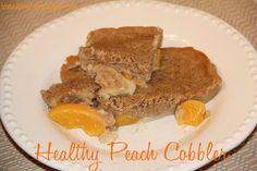 Jenna's Journey: Healthy Peach Cobbler