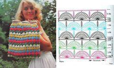 mushroom, crochet bags, purs pattern, stitch, chart, crochet purses, purse patterns