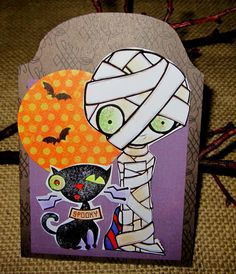 Wendylynn's Paper Whims: Tombstone Shaped Card