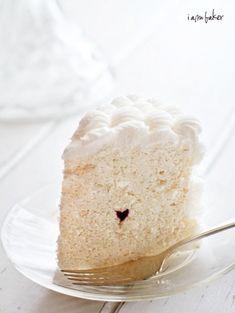 mini hidden heart cake!