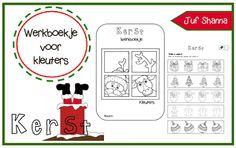 Werkblad diverse: Thema kerst - Werkboekje kleuters