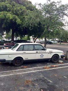 Stunt car 102 police vehicle