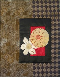Kimono ii by Shirley MacGregor | Asian inspired art quilt